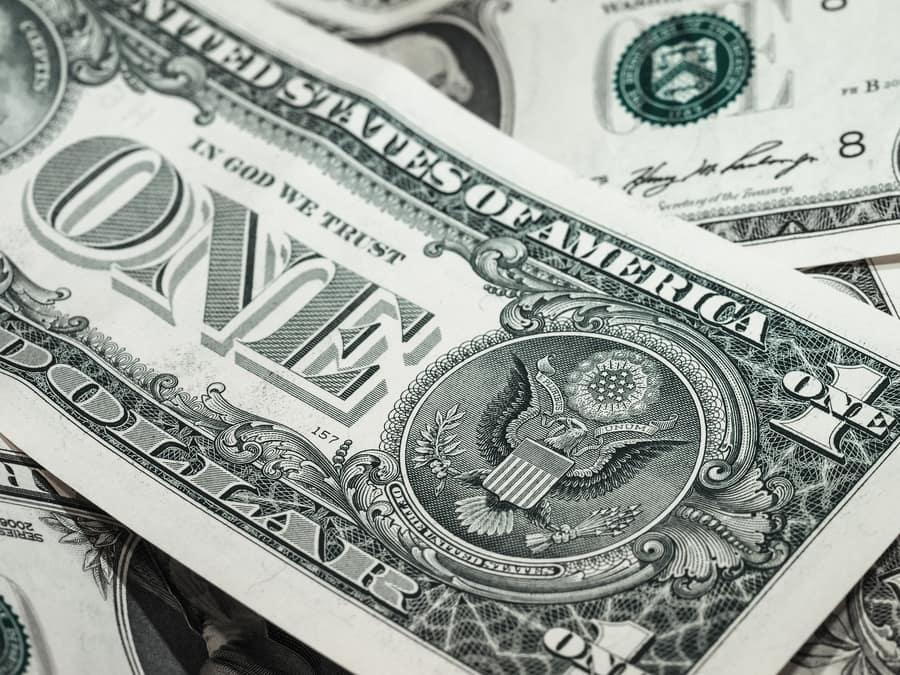 paper money in assorted bills